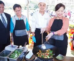 竹市低碳蔬食活動  2000人可減多少碳?