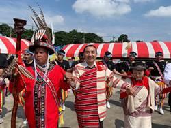 原民聯合文化活動樹林登場 千人共跳大圍舞熱鬧滾滾