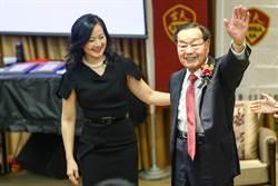 華人船王趙錫成台大開講 將成就歸功妻子