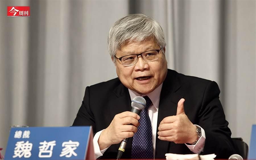 台積電總裁魏哲家上調資本支出,顯示出台積電對未來需求樂觀。(攝影/吳東岳)