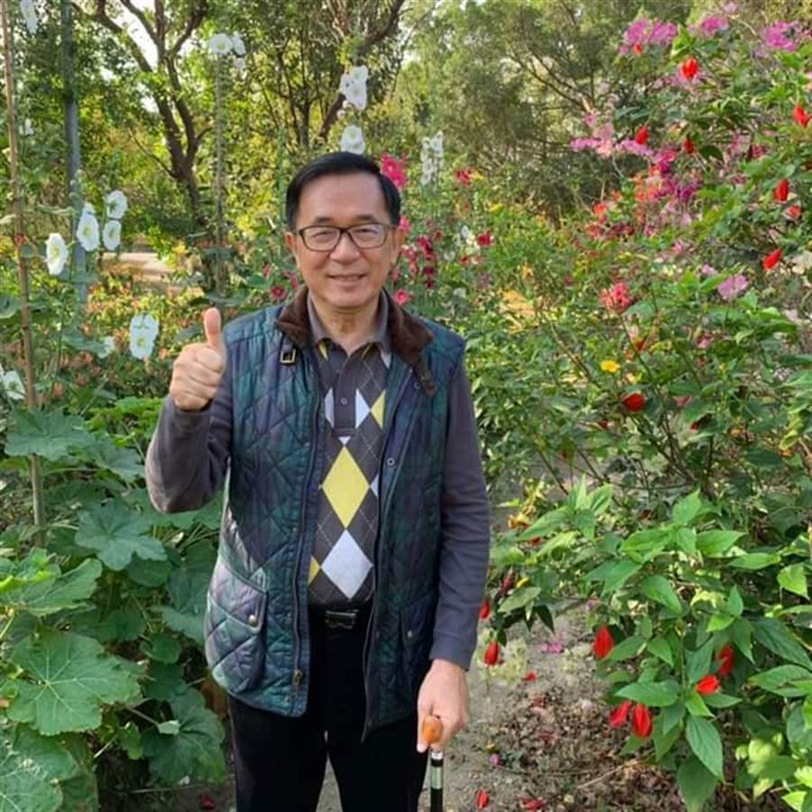 前總統陳水扁。(取自陳水扁臉書)