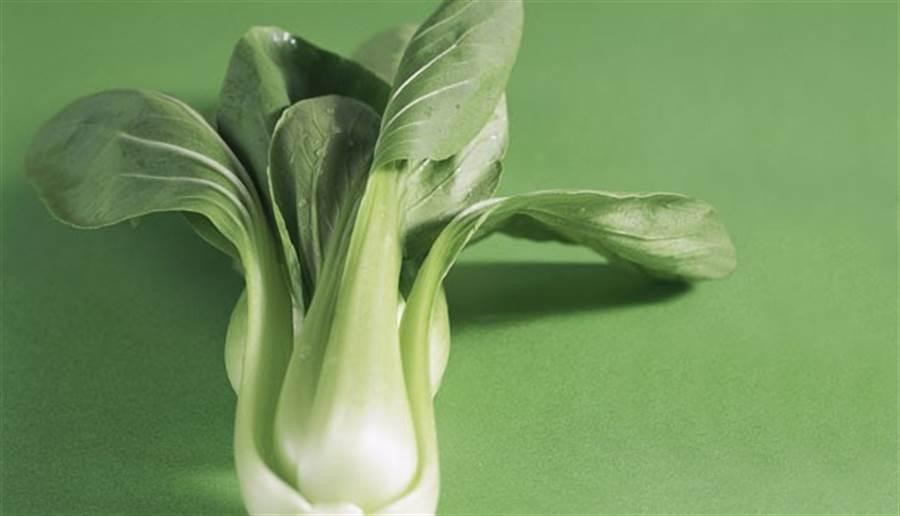 青江菜鈣含量高,也有深色蔬菜中豐富的維生素C、β-胡蘿蔔素與葉酸,另外它特有的硫化物也是抗氧化的好幫手。(圖/康健雜誌)