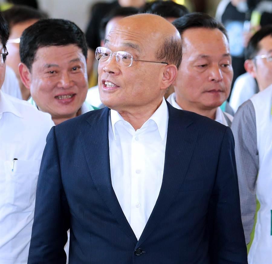 行政院長蘇貞昌。(圖/資料照片)