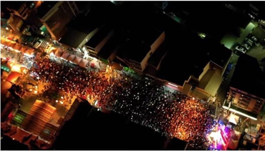 新竹庶民起義空拍360°完整版影片,讓網友不禁喊:太美了!(「Johnny Lin空拍」YouTube)