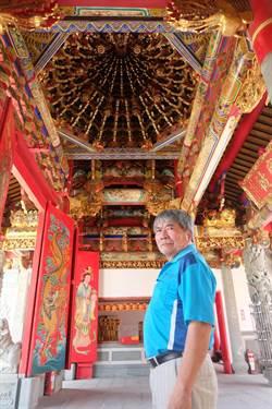 傳承寺廟「大木作」 劉鴻林登錄保存技術者