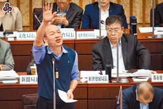 質詢不到韓國瑜提假處分 法官駁回確定