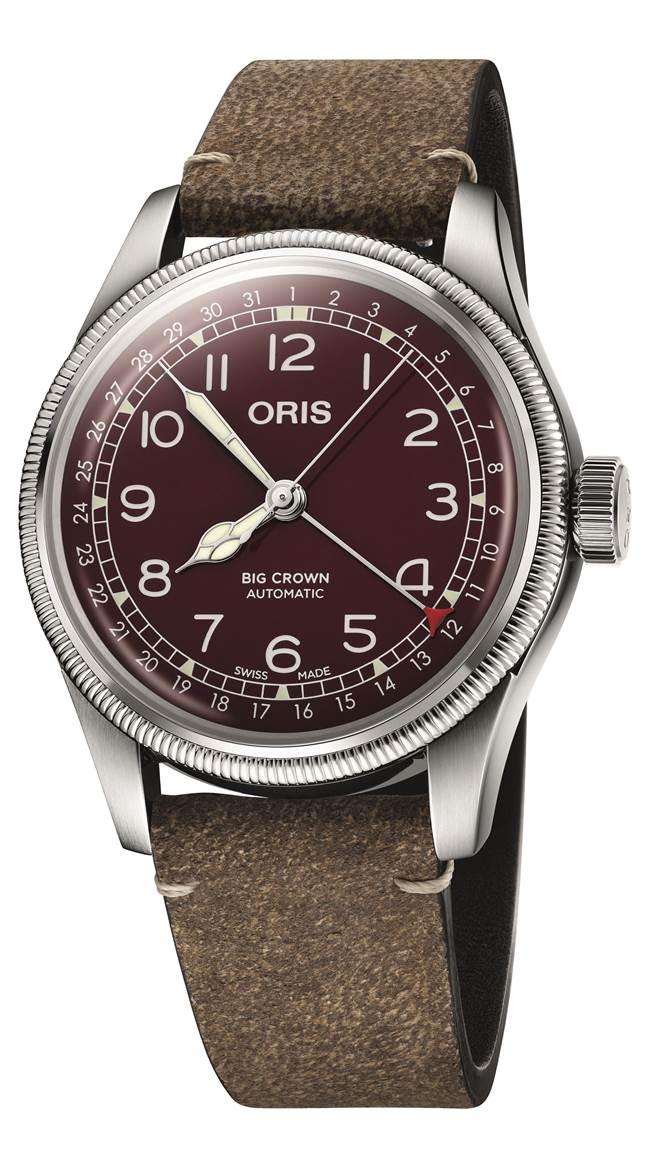 ORIS Big Crown 指針式日期表,4萬3000元。(ORIS提供)
