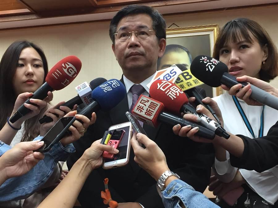 教育部長潘文忠說,國民黨總統候選人韓國瑜對教育不夠瞭解。(林志成攝)