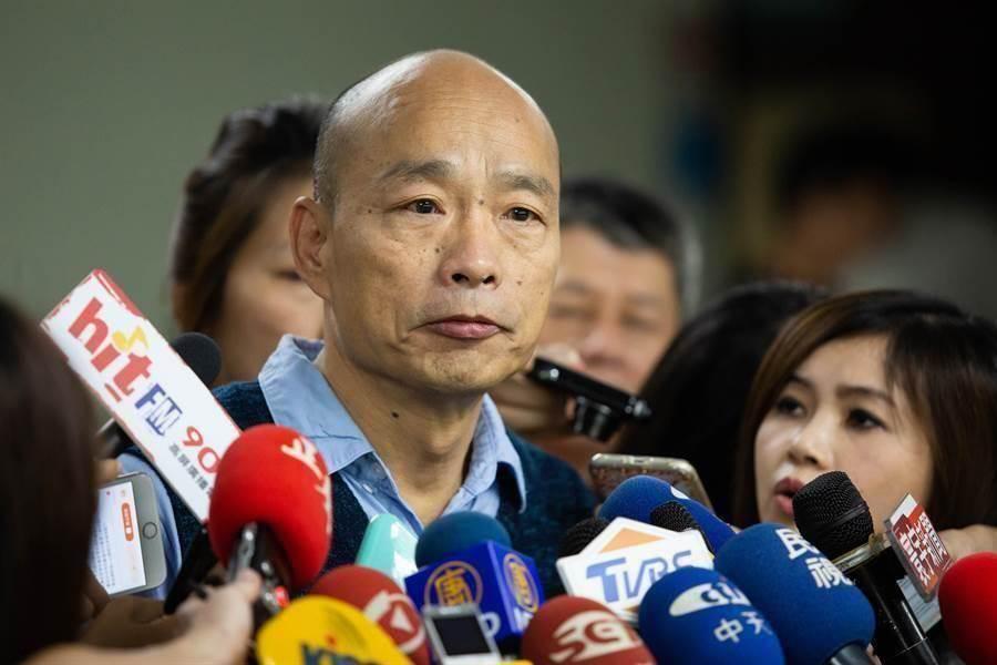 國民黨總統參選人韓國瑜。(圖/中時資料照片)