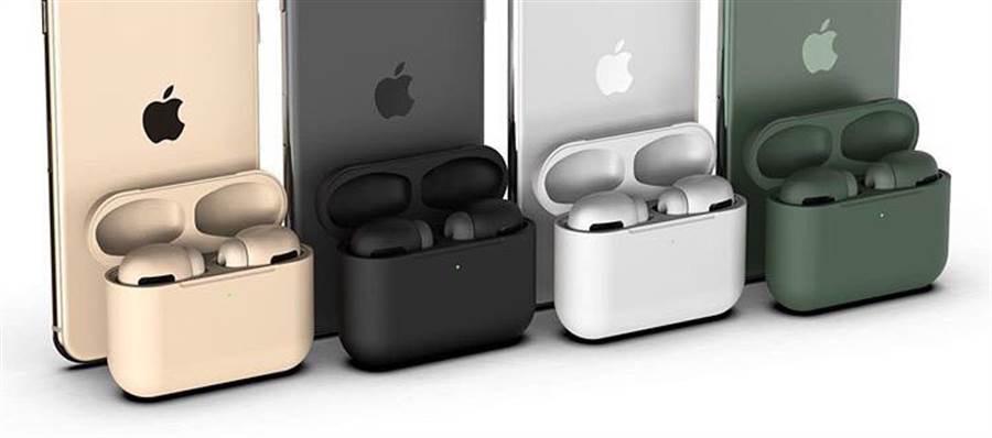 媒體報導,新一代 AirPods Pro 無線耳機將有多種配色可選,可能多達 8 種。(摘自EverythingApplePro)