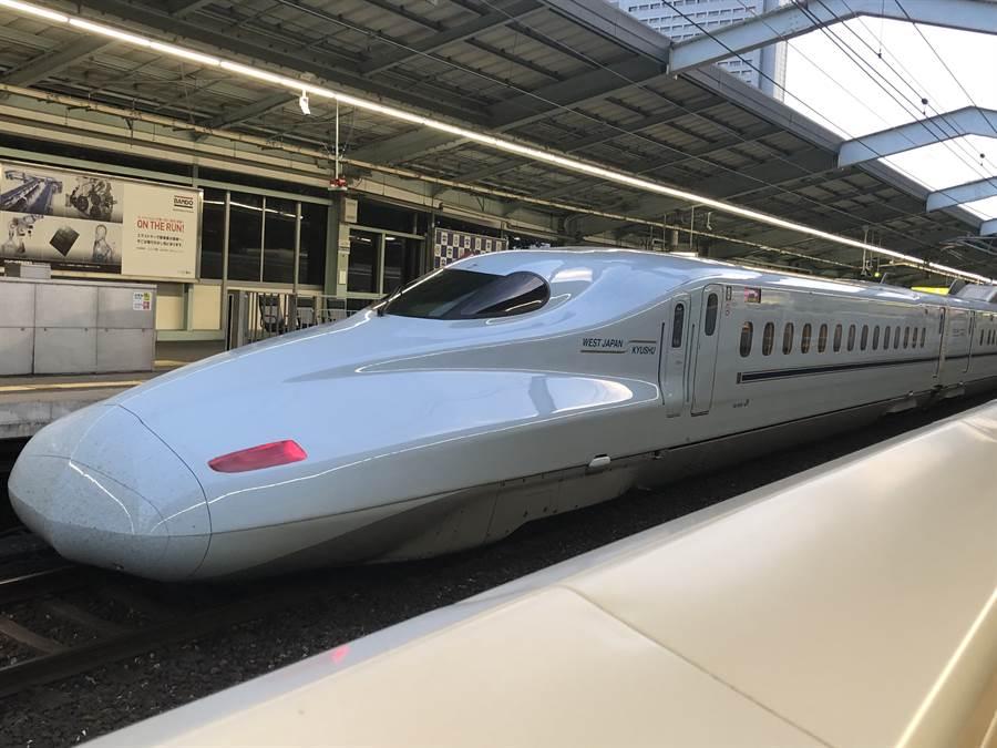 JR西日本九州新幹線。(示意圖,黃菁菁攝)
