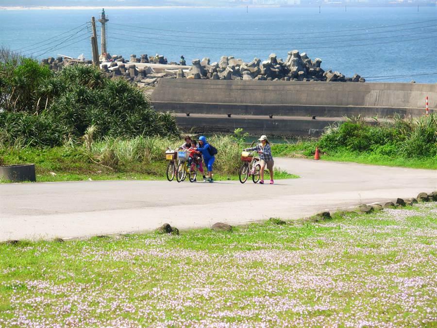 福容大飯店福隆店_鄰近飯店區的環狀線腳踏車步道。(福容飯店提供/吳康瑋新北傳真)