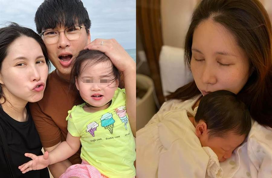 余苑綺直腸癌復發,表示會為了家人、孩子堅強。(圖/翻攝自臉書)
