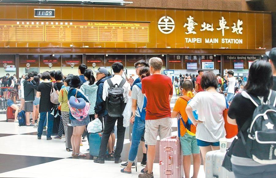 交通部台鐵局進行列車時刻微調。(報系資料照)