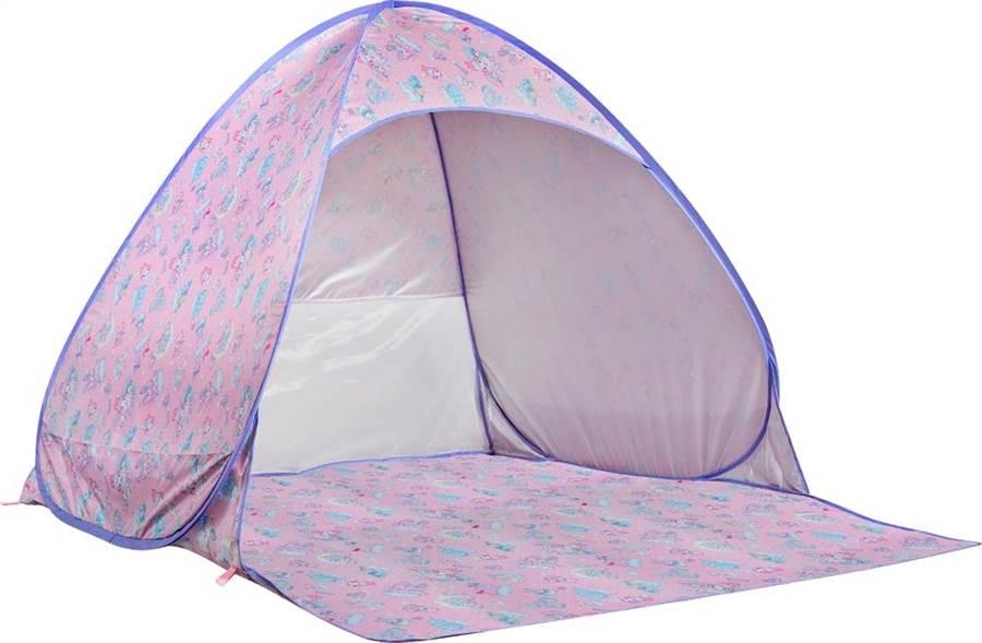 「SANRIO X ECONECO夢幻野餐不怕曬帳篷」加購價888元(圖/日藥本舖提供)