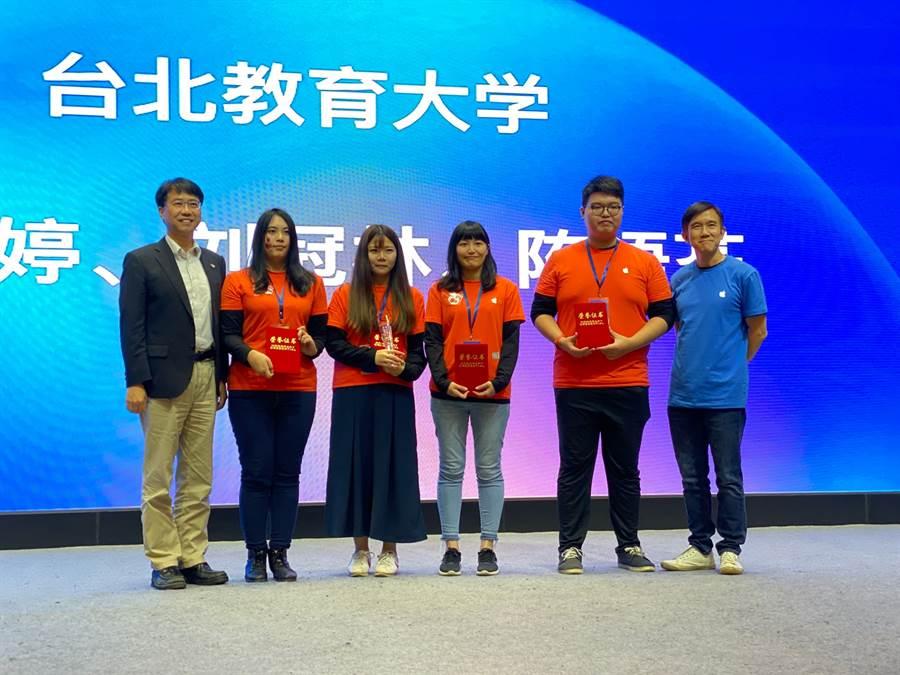 Apple 「2019年APP移動應用創新賽」大中華區總決賽結果公布,由Straight A贊助之團隊分獲一等獎與三等獎。(STUDIO A提供/黃慧雯台北傳真)