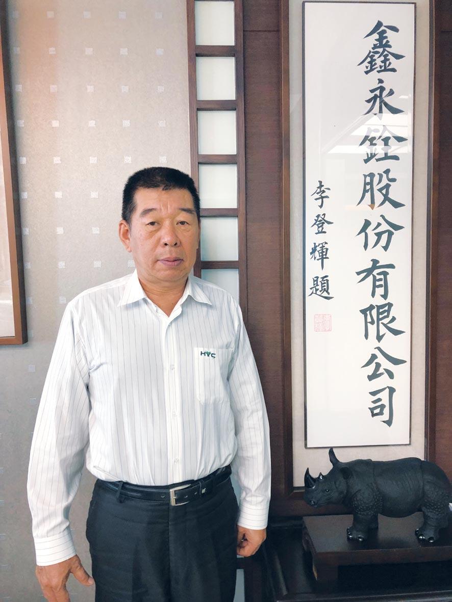 鑫永銓董事長林季進。圖/劉朱松