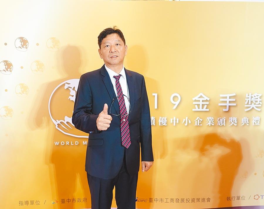 勤工有限公司董事長林溪寬。圖/黃俊榮