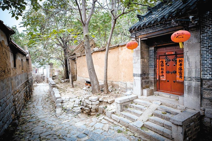山東第一古村落,朱家峪村風光。(CFP)