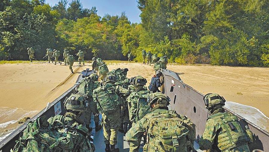 星光部隊年度訓練都安排在5到9月間。(取自新加坡 星光部隊 台灣e-Mart臉書)