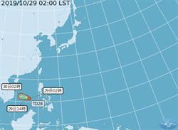 北台高溫低4度 熱低壓最快今成颱