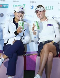 裙襬搖搖》這款台灣飲料 讓高球女將瘋狂