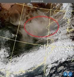 沙塵暴飄至上海 明天恐影響北台灣