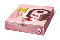 網美打卡瞄準!小7獨家預購GODIVA紅寶石巧克力蛋糕