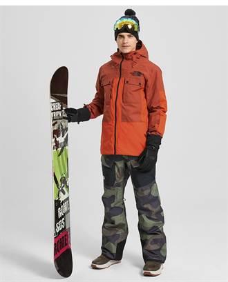 THE NORTH FACE打造滑雪裝備   城市與雪場無差別轉換