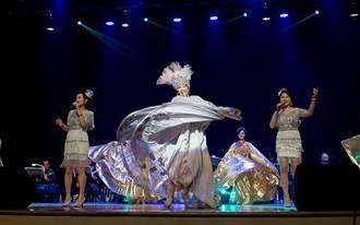 挺韓動感女星唱跳做公益 自嘲台上像龍台下像蟲
