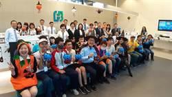 台北富邦銀行響應藍色南瓜運動 邀「星兒」共度萬聖節