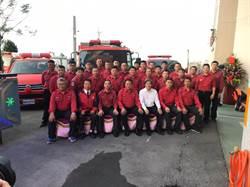 台塑捐贈3輛消防車與救災車 提升雲林救災能量