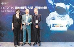 玉山銀 獲IDC數位轉型大獎