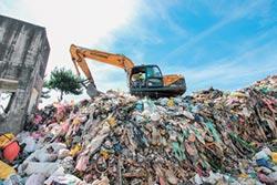 梨山600噸垃圾 年底完成清運