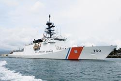美海警船入黃海 陸萬噸艦對峙