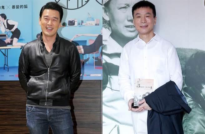 王耀慶和李天柱都靠演技紅到對岸。(圖/本報系資料照)