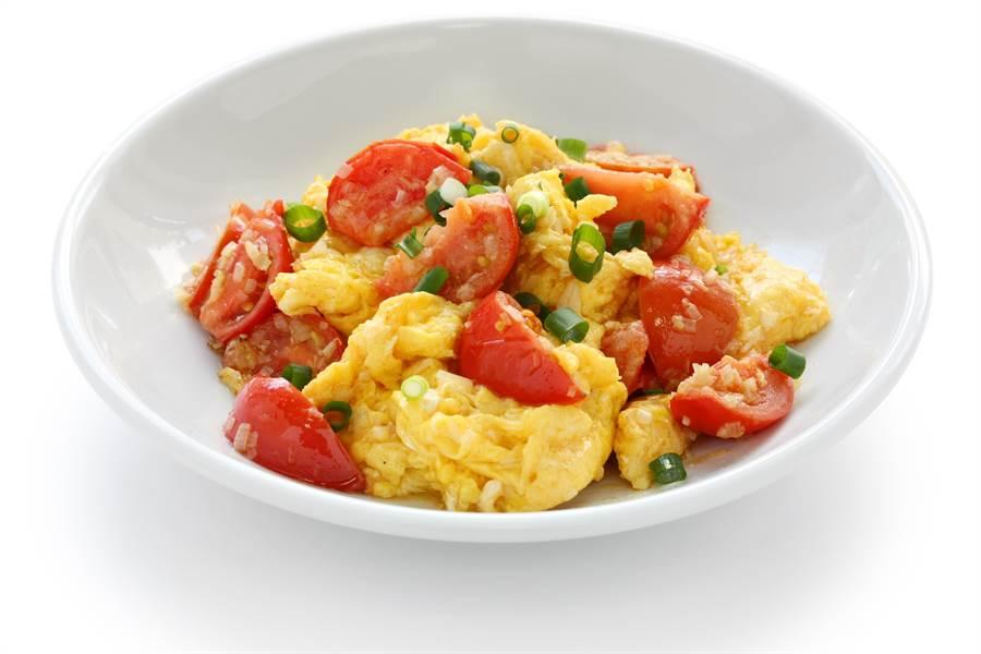 不少外食族認為,番茄炒蛋能吃出店家實力(示意圖/達志影像)