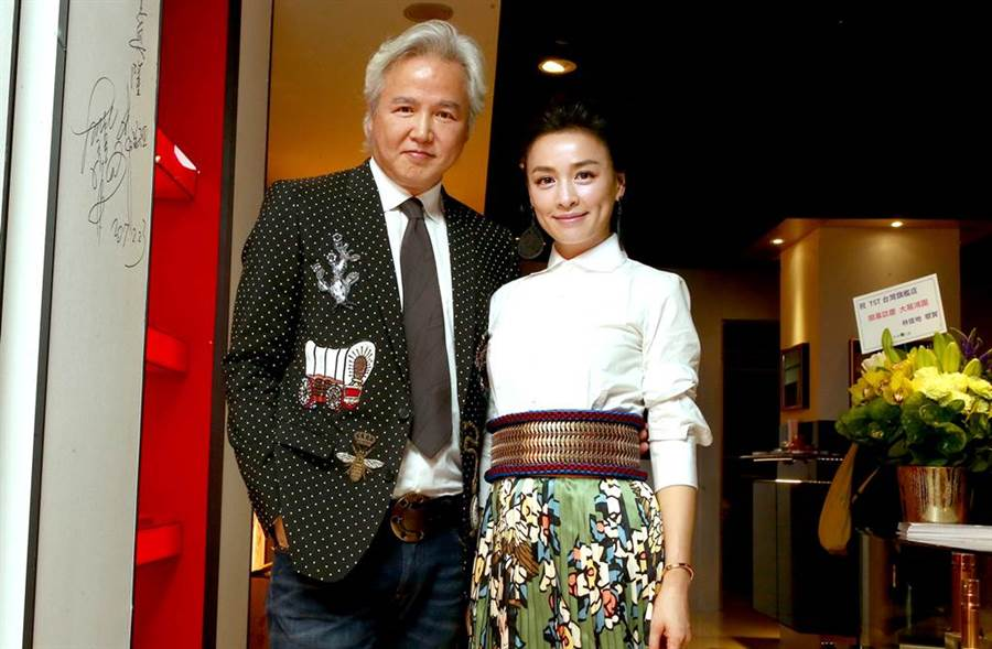 張庭和林瑞陽經營自創品牌,身家1500億。(圖/本報系資料照)