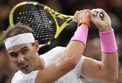 網球》5次年終第一 納達爾用球拍寫紀錄