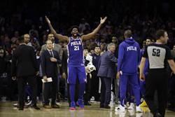 NBA》隔空續戰!恩比德怒嗆唐斯軟蛋