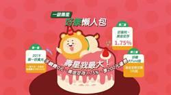 第一銀行慶120週年 三重好禮寵愛11月壽星