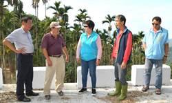 加強水里集集坑溝護岸 林明溱斥資500萬元改善