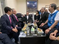 岡山市議會拜會新竹市議會 許修睿熱情歡迎
