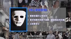 戴面具慶萬聖節  港警:有權要求及用武力除面罩