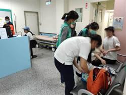 曉明女中學生台南野炊  11人不慎燒燙傷