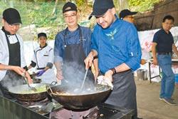 加勒比海學子 社區當義廚