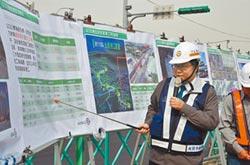 桃捷綠線高架段 年底完成20橋墩