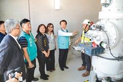 艾貴義竹電廠 捐450萬修路
