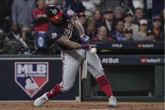 MLB》逆轉太空人  國民首登世界大賽王座