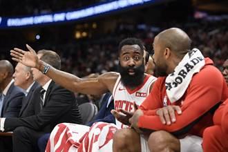 NBA》有夠狂!哈登59分領火箭逆轉勝